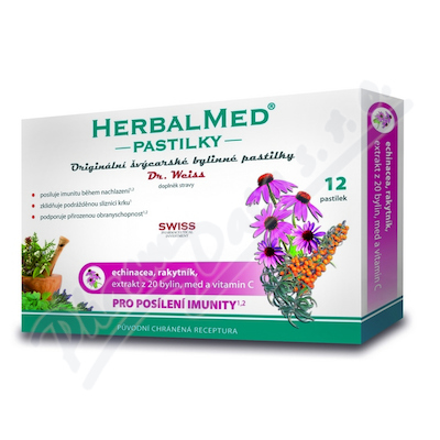 HerbalMed past. Dr.Weiss Echin+rokitnik+wit.C 12