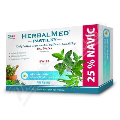 HerbalMed past. Dr.Weiss Eukalipt+mięta+wit.C 24+6