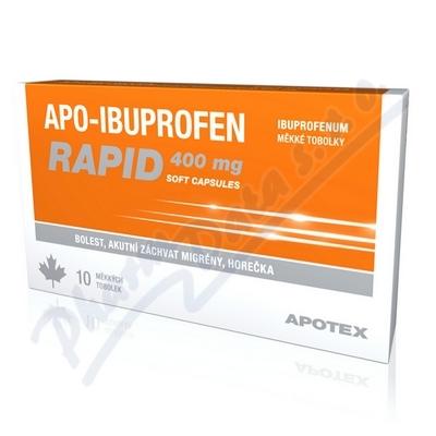 Apo-Ibuprofen Rapid 400mg por.cps.mol.10x400mg