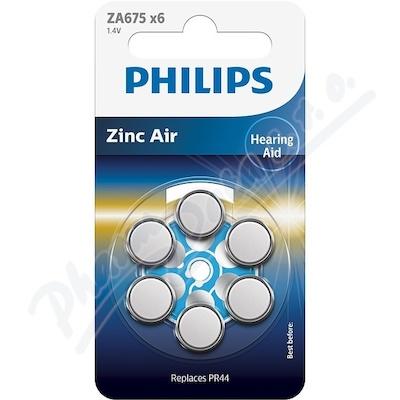 Baterie do naslouchadel PHILIPS ZA675B6A/00 6ks