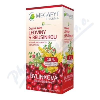 Megafyt Bylink.lék.Čaj.směs ledviny brusin.20x1.5g