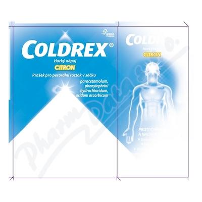 Coldrex Horký nápoj Citron med por.plv.sol.scc.10