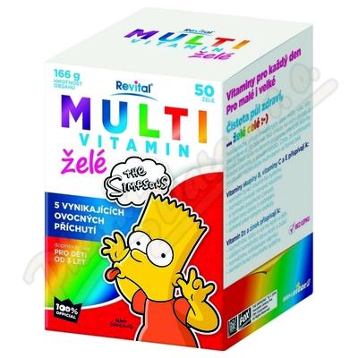 The Simpsons Multiwitamina żelki 50szt