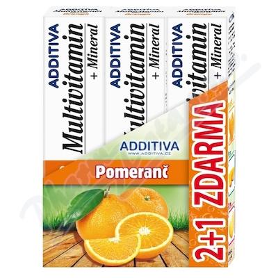 Zestaw Additiva MM 2+1 pomarańcza musujące tbl.3x20ks