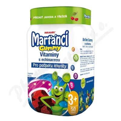 Walmark Marťánci Gummy Echinacea 20mg 50szt