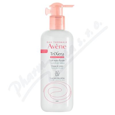 AVENE TriXera Nutri-fluid Mléko 400ml