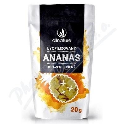 Allnature Ananas liofilizowany kawałki 20 g