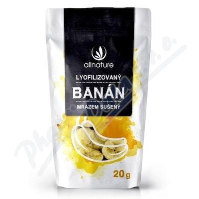 Allnature Banán liofilizowany 20 g