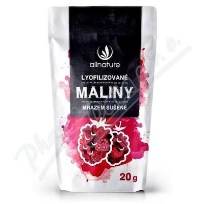 Allnature Malina liofilizowana cała 20 g