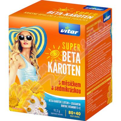Revital Super Beta-karot.nagietek+stokrotka tbl.80+40