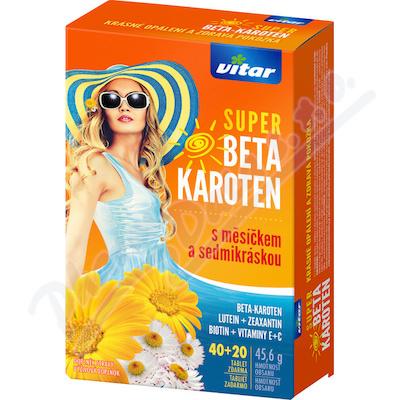 Revital Super Beta-karot.nagietek+stokrotka tbl.40+20