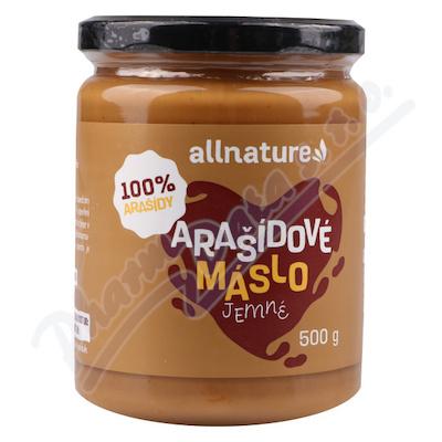 Allnature Masło arachidowe delikatne 500 g