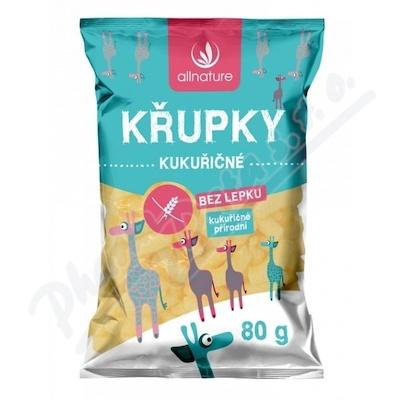 Allnature Chrupki kukurydziane 80 g