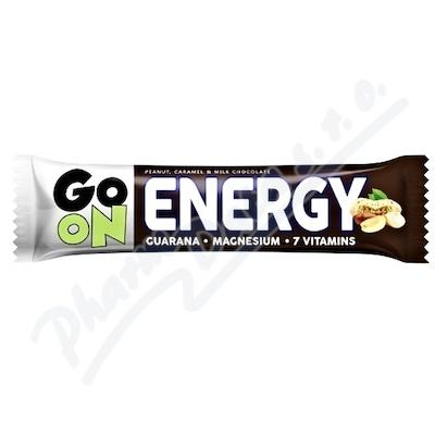 GO ON Baton energetyczny orzech karmel 50g