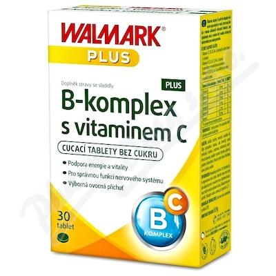 Walmark B-komplex PLUS z witaminą C tbl.30