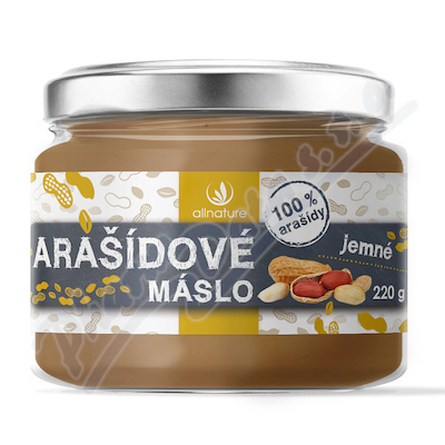 Allnature Masło arachidowe delikatne 220 g