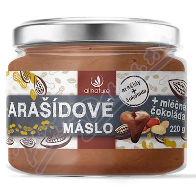 Allnature Masło arachidowe z mleczną czekoladą 220g