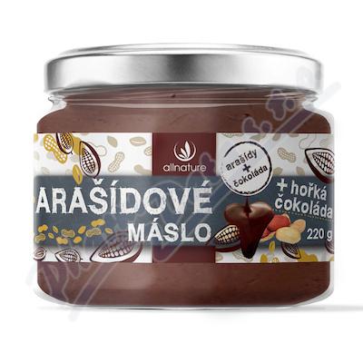 Allnature Masło arachidowe z gorzką czekoladą 220 g