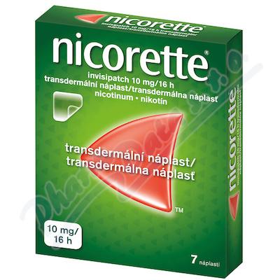 Nicorette Invisipatch 10mg/16h náplast 7x10mg