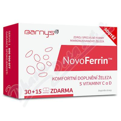 Barnys NovoFerrin cps.30+15 GRATIS