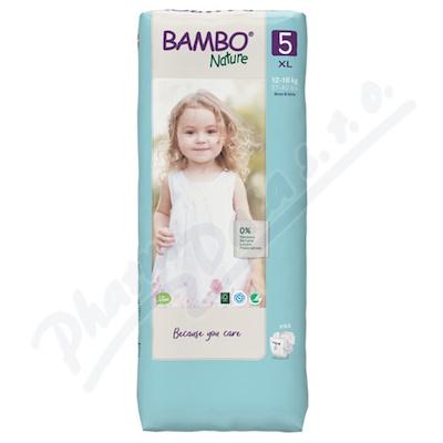 Bambo Nature 5 děts.plenkové kalhotky 12-18kg 44ks