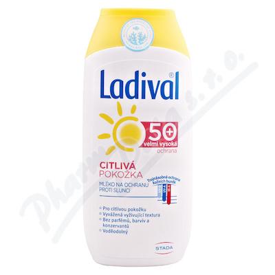 LADIVAL wrażliwa skóra OF50+ MLECZKO 200ml