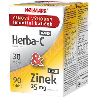 Walmark Herba-C tbl.30&Cynk 25mg tbl.90 Promo2020
