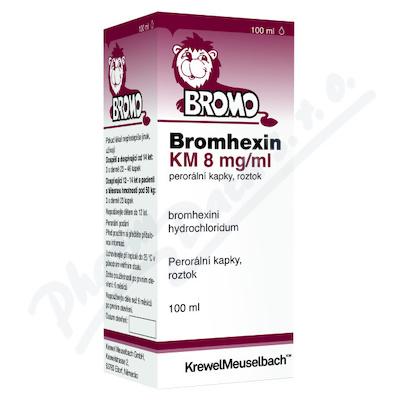 Bromhexin KM 8mg/ml por.gtt.sol.1x100ml