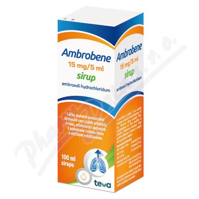 Ambrobene 15mg/5ml sir.1x100ml