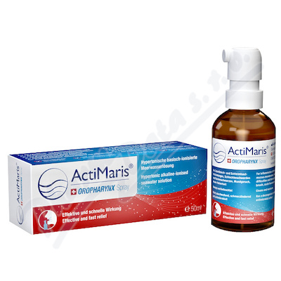 ActiMaris OROPHARYNX sprej na záněty infekce 50ml