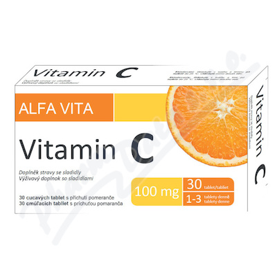 ALFA VITA Vitamin C 100mg tbl.30