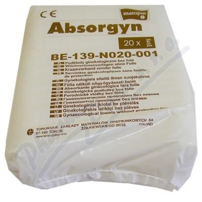 Absorgyn wkładki,podpaski położnicze 20szt