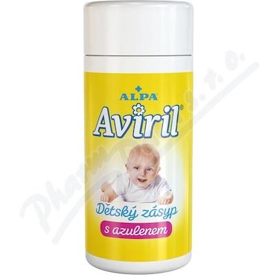 Aviril puder dziecięcy z azulenem 100g