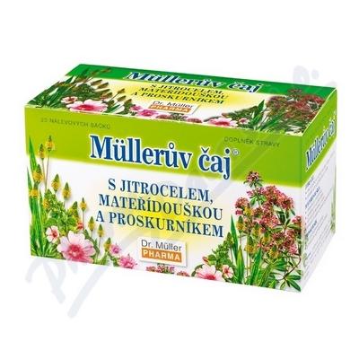 Müllerův čaj s jitrocelem (průdušky) 20x1.5g