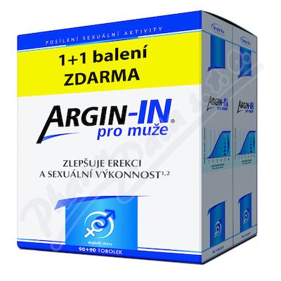 Argin-IN dla mężczyzn erekcja tob.90 + Argin-IN tob.90 gratis