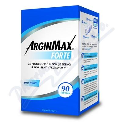 ArginMax Forte dla mężczyzn erekcja tob.90