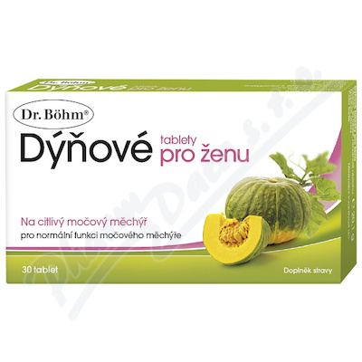 Dr.Bohm Tabletki dynia dla kobiety tbl.30