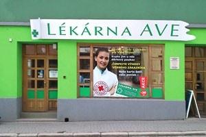 Osobný odber - Zábřeh na Moravě - Lékárna AVE