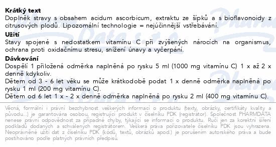 LIPO C ASKOR - płynna liposomalna witamina C 136ml