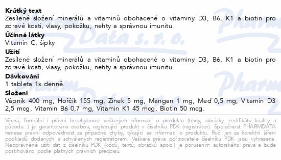 GS Wapno Magnez Cynk Prem.tbl.100+30 prezent 2020 ČR/SK